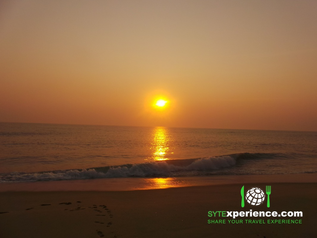 angola Complexo turistico Golfinho Sangano bungalow resort praia por do sol sunset beach